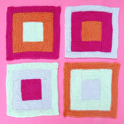 pink-logcabin-washcloths