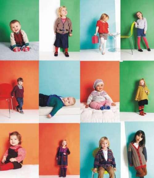 Baby Cashmerino 4 designs