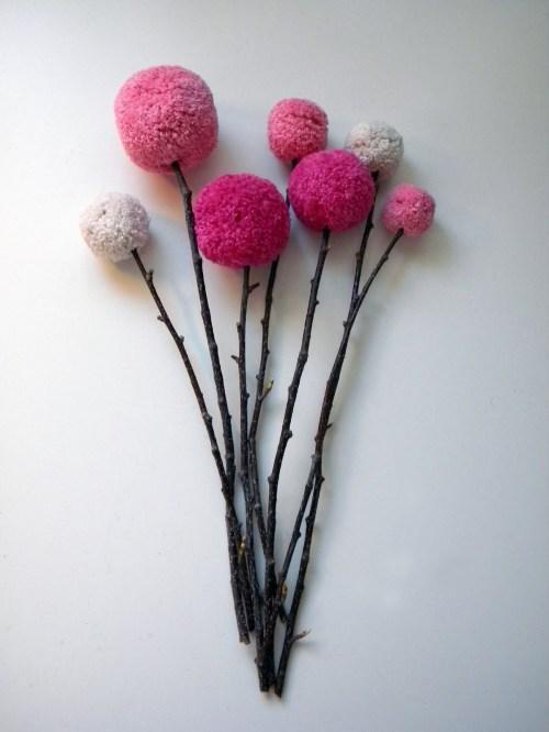 flores pompons