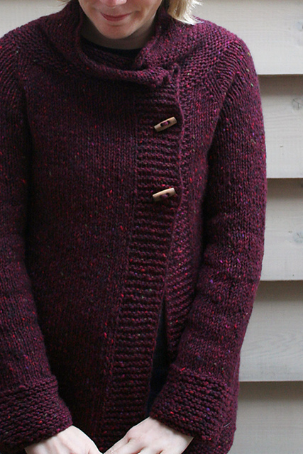 Samlamb's Golden Wheat Cardigan